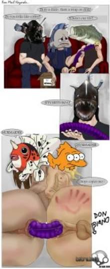 #pic279772: Blinky – Don Piano – Metalocalypse – Nathan Explosion – Pickles – Seaking – Skwisgaar Skwigelf – The Simpsons – Toki Wartooth – William Murderface – dethklok – meme