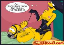 #pic275277: Homer Simpson – Marge Simpson – The Simpsons – comic