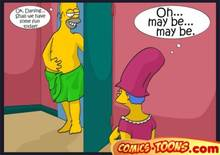 #pic275269: Homer Simpson – Marge Simpson – The Simpsons – comic