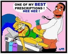 #pic352465: Julius Hibbert – Marge Simpson – The Simpsons – necron99