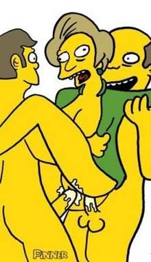 #pic1355065: Edna Krabappel – Seymour Skinner – Superintendent Chalmers – The Simpsons