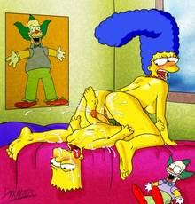 #pic341023: Bart Simpson – Darkmatter – Marge Simpson – The Simpsons