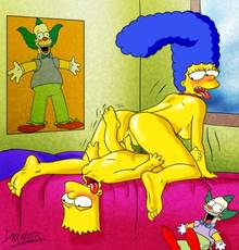 #pic341022: Bart Simpson – Darkmatter – Marge Simpson – The Simpsons