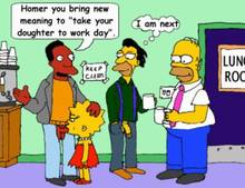 #pic1351821: Carl Carlson – Homer Simpson – Lenny Leonard – Lisa Simpson – The Simpsons – animated