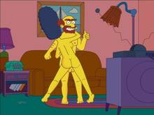 #pic331033: Groundskeeper Willie – Marge Simpson – The Simpsons