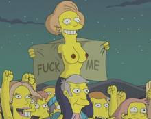 #pic260130: Edna Krabappel – Mole – Seymour Skinner – The Simpsons