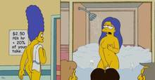 #pic260102: Marge Simpson – Mole – The Simpsons