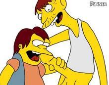 #pic260065: Cletus Spuckler – Nelson Muntz – Pinner – The Simpsons