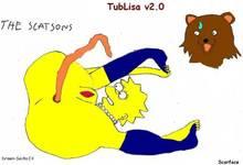 #pic258995: Lisa Simpson – PedoBear – Scarface – The Simpsons – meme – tubgirl