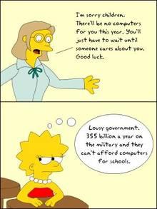 #pic258213: Elizabeth Hoover – Lisa Simpson – Pinner – The Simpsons – comic