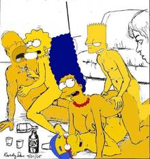 #pic789595: Bart Simpson – Homer Simpson – Lisa Simpson – Marge Simpson – Milhouse Van Houten – The Simpsons