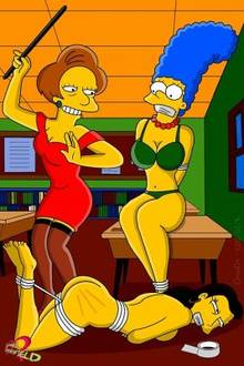 #pic789038: Claudia-R – Edna Krabappel – Marge Simpson – Ruth Powers – The Simpsons