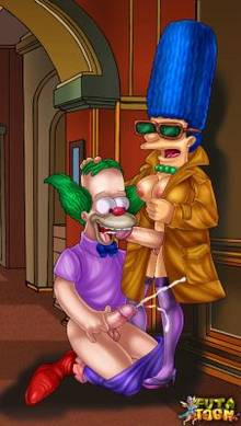 #pic788492: Krusty The Clown – Marge Simpson – The Simpsons – futa-toon