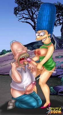 #pic788294: Homer Simpson – Marge Simpson – The Simpsons – futa-toon