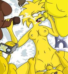 #pic1192337: Maggie Simpson – Ned Flanders – The Simpsons – blargsnarf