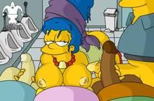 #pic1189313: Jester – Lewis – Marge Simpson – Milhouse Van Houten – Ralph Wiggum – The Simpsons – Wendell Borton – blargsnarf