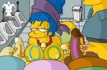 #pic1189312: Jester – Lewis – Marge Simpson – Milhouse Van Houten – Ralph Wiggum – The Simpsons – Wendell Borton – blargsnarf