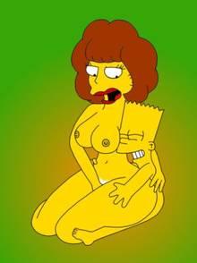 #pic719279: Bart Simpson – BurtStanton – Maude Flanders – The Simpsons