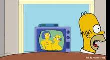 #pic719875: Homer Simpson – Kirk Van Houten – Luann Van Houten – Marge Simpson – The Simpsons – animated