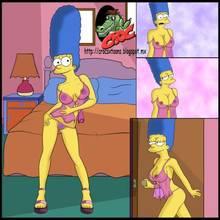 #pic1340444: Croc (artist) – Marge Simpson – The Simpsons – crocsxtoons