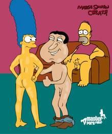 #pic717800: Family Guy – Glenn Quagmire – Homer Simpson – Marge Simpson – The Simpsons – crossover – master porn faker