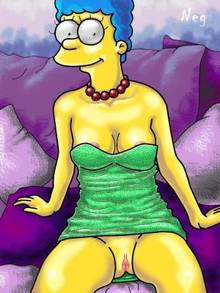 #pic717319: Marge Simpson – NEG – The Simpsons
