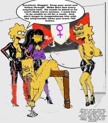 #pic717230: Bart Simpson – Jessica Lovejoy – Lisa Simpson – Maggie Simpson – The Simpsons