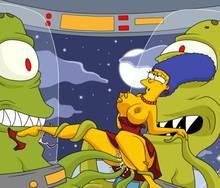 #pic716458: Marge Simpson – The Simpsons – kang – kodos – masterman114
