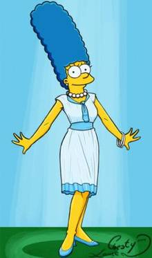 #pic1339760: Chesty Larue – Marge Simpson – The Simpsons – animated