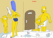 #pic715334: Bart Simpson – Homer Simpson – Lisa Simpson – Marge Simpson – Nytemare – The Simpsons