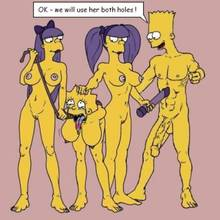 #pic714942: Bart Simpson – Lisa Simpson – Sherri – Terri – The Fear – The Simpsons