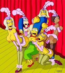 #pic1132298: GKG – Marge Simpson – The Simpsons – Twiggy