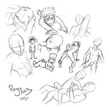 #pic1123974: Ash Ketchum – Bart Simpson – Monkey D. Luffy – Naruto – Naruto Uzumaki – One Piece – Porkyman – Raga – The Simpsons – crossover