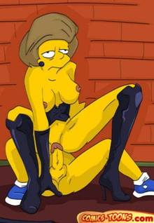 #pic90509: Bart Simpson – Edna Krabappel – The Simpsons