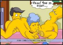 #pic86427: Agnes Skinner – Bart Simpson – Seymour Skinner – The Simpsons
