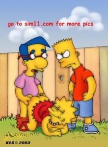 #pic80391: Kes – Lisa Simpson – Milhouse Van Houten – The Simpsons