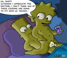 #pic80350: Bart Simpson – Lisa Simpson – The Simpsons – battle angel