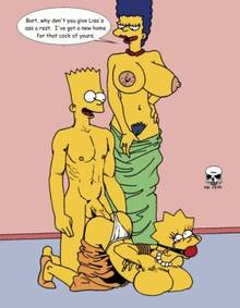 #pic97786: Bart Simpson – Lisa Simpson – Marge Simpson – The Fear – The Simpsons