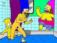 #pic309462: Bart Simpson – Dagger (Artist) – Homer Simpson – Marge Simpson – The Simpsons
