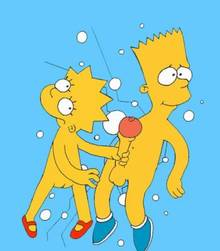 #pic90583: Bart Simpson – Lisa Simpson – The Simpsons