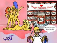 #pic90537: Homer Simpson – Marge Simpson – The Simpsons – WDJ