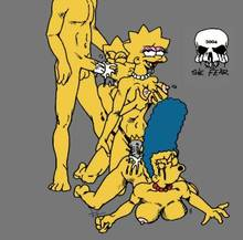 #pic236237: Bart Simpson – Lisa Simpson – Maggie Simpson – Marge Simpson – The Fear – The Simpsons