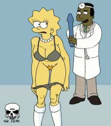 #pic235820: Julius Hibbert – Lisa Simpson – The Fear – The Simpsons
