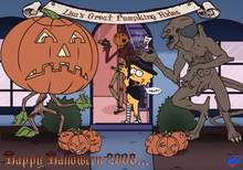 #pic233997: Halloween – Jack O'Lantern – Lisa Simpson – Pumpkinhead – The Simpsons – WDJ – crossover – jack pumpkinhead – the grand pumpkin – the great pumpkin