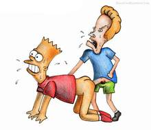#pic232303: Bart Simpson – Beavis – Beavis and Butt-head – The Simpsons – beastsexillustrated