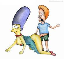 #pic232304: Beavis – Beavis and Butt-head – Marge Simpson – The Simpsons – beastsexillustrated
