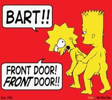 #pic231764: Bart Simpson – FPA – Ha cha cha – Lisa Simpson – The Simpsons