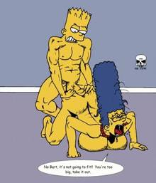 #pic240555: Bart Simpson – Marge Simpson – The Fear – The Simpsons