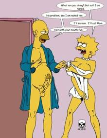 #pic239789: Homer Simpson – Lisa Simpson – The Fear – The Simpsons