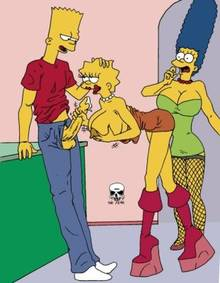 #pic239543: Bart Simpson – Lisa Simpson – Marge Simpson – The Fear – The Simpsons